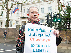 LGBT Chechnya Protest London 27th January 2019