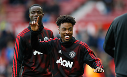 Manchester United's Angel Gomes during the Premier League match at Old Trafford, Manchester.