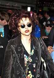© under license to London News Pictures. 07/04/2011 Helena Bonham Carter attends the press night for Betty Blue Eyes a new Cameron Mackintosh play about a royal wedding, adapted from the film A Private Function at the Ivor Novello Theatre , Aldwych London. Photo credit should read ALAN ROXBOROUGH /LNP