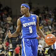 Memphis guard Will Barton (5) during a Conference USA NCAA basketball game between the Memphis Tigers and the Central Florida Knights at the UCF Arena on February 9, 2011 in Orlando, Florida. Memphis won the game 63-62. (AP Photo: Alex Menendez)