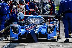 May 13, 2018 - Monza, Italie - 25 ALGARVE PRO RACING (PRT) LIGIER JSP217 GIBSON LMP2 MARK PATTERSON (USA) ATE DE JONG (PHL) TACKSUNG KIM  (Credit Image: © Panoramic via ZUMA Press)