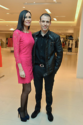 LINZI STOPPARD and WILL STOPPARD at the Melissa Odabash & Future Dreams Preview to launch their collaborative mastectomy swimwear line in aid of the future dreams Haven appeal held at Fenwick, New Bond Street, London on 10th February 2015.