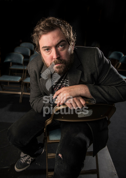 English comedian, actor and rock musician, Nick Helm pictured at north London comedy club, The Bill Murray.<br /> Picture by Daniel Hambury/Stella Pictures Ltd 07813022858<br /> 02/08/2017
