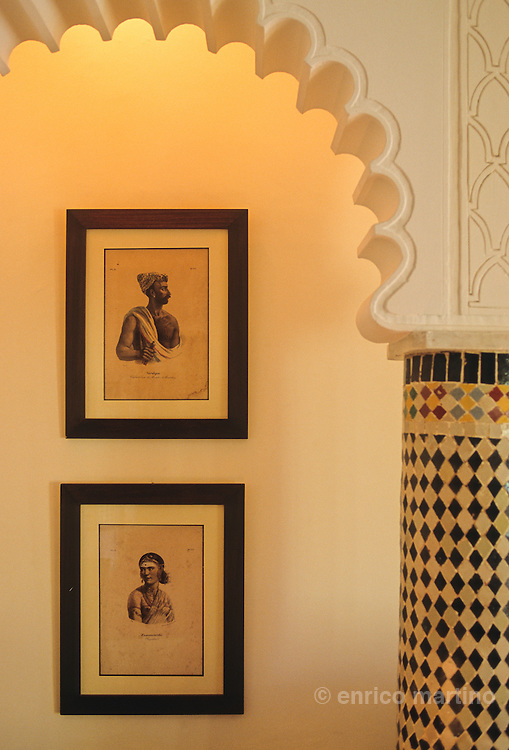 Tangier, Riad Tanja, a small hotel de charme on the walls of the old city (?medina?).