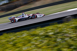 April 20, 2018 - Birmingham, Alabama, United States of America - April 20, 2018 - Birmingham, Alabama, USA: WILL POWER (12) of Australia takes to the track to practice for the Honda Grand Prix of Alabama at Barber Motorsports Park in Birmingham, Alabama. (Credit Image: © Justin R. Noe Asp Inc/ASP via ZUMA Wire)