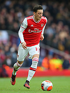 Arsenal's Mesut Ozil during the Premier League match at the Emirates Stadium, London. Picture date: 7th March 2020. Picture credit should read: Paul Terry/Sportimage