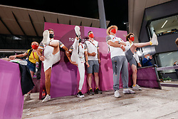 Team Belgium, Gaetan Decroix, Patricia Moser, Bruninx FGrederik, Weinbergh Peter, Laeremans Wendy<br /> Olympic Games Tokyo 2021<br /> © Hippo Foto - Dirk Caremans<br /> 07/08/2021