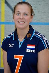 12-05-2005 VOLLEYBAL: TEAMPRESENTATIE: AMSTELVEEN<br /> Elke Wijnhoven<br /> ©2005-WWW.FOTOHOOGENDOORN
