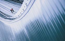 31.12.2019, Olympiaschanze, Garmisch Partenkirchen, GER, FIS Weltcup Skisprung, Vierschanzentournee, Garmisch Partenkirchen, Qualifikation, im Bild Markus Eisenbichler (GER) // Markus Eisenbichler of Germany during his qualification Jump for the Four Hills Tournament of FIS Ski Jumping World Cup at the Olympiaschanze in Garmisch Partenkirchen, Germany on 2019/12/31. EXPA Pictures © 2019, PhotoCredit: EXPA/ JFK