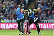Sussex's Luke wright during the final of the Vitality T20 Finals Day 2018 match between Worcestershire rapids and Sussex Sharks at Edgbaston, Birmingham, United Kingdom on 15 September 2018.