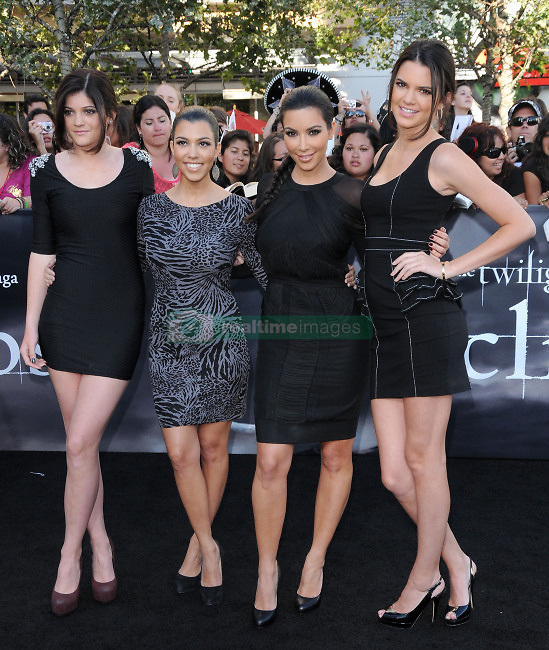 Kylie Jenner, Kourtney Kardashian, Kim Kardashian & Kendall Jenner  attending the Summit Entertainment's Premiere of The Twilight Saga : Eclipse held at the Los Angeles Film Festival at Nokia Live in Los Angeles, CA, USA on June 24, 2010. Photo by Debbie VanStory/ABACAPRESS.COM