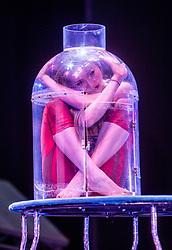 Odka. Cirque Berserk! photocall at the at the Festival Theatre, Edinburgh.