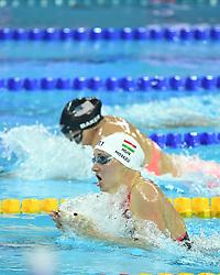 HANGZHOU, Dec. 15, 2018  Katinka Hosszu of Hungary competes during Women's 200m Individual Medley Final at 14th FINA World Swimming Championships (25m) in Hangzhou, east China's Zhejiang Province, on Dec. 15, 2018. Katinka Hosszu claimed the title with 2:03.25. (Credit Image: © Xinhua via ZUMA Wire)