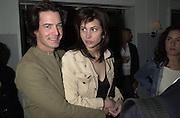 Kyle McLachlan Talk pre-Golden Globes party. Mondrian Hotel. 20 January 2001. © Copyright Photograph by Dafydd Jones 66 Stockwell Park Rd. London SW9 0DA Tel 020 7733 0108 www.dafjones.com