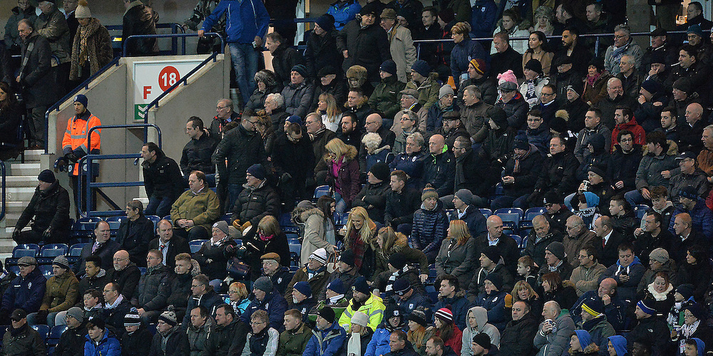 Fans<br /> <br /> Photographer Dave Howarth/CameraSport<br /> <br /> Football - The Football League Sky Bet Championship - Preston North End v Charlton Athletic - Tuesday 23rd February 2016 - Deepdale - Preston<br /> <br /> © CameraSport - 43 Linden Ave. Countesthorpe. Leicester. England. LE8 5PG - Tel: +44 (0) 116 277 4147 - admin@camerasport.com - www.camerasport.com