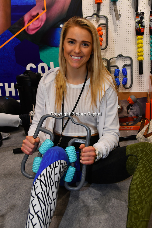Sion International Co., Ltd. - China supplier of fitness accessory, elliptical bike, jump rope, dumbell, hula hoop, push up bar, yoga set, water sports accessory exhibition at Elevate 2019 on 8 May 2019, at Excel London, UK.