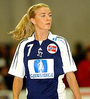 Håndball damer Møbelringen Cup 27.11.05,<br /> Norge - Danmark 22-31, Randi Gustad<br /> Foto: Carl-Erik Eriksson, Digitalsport