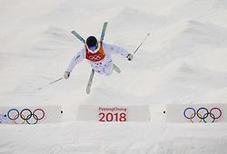 February 9, 2018 - Pyeongchang, South Korea - FELIX ELOFSSON of Sweden competes in the Men's Moguls Qualification at Phoenix Snow Park during the 2018 Winter Olympics. (Credit Image: © Petter Arvidson/Bildbyran via ZUMA Press)