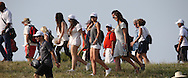 Lots of ladies in the crowds during Round One of the 2015 Alstom Open de France, played at Le Golf National, Saint-Quentin-En-Yvelines, Paris, France. /02/07/2015/. Picture: Golffile | David Lloyd<br /> <br /> All photos usage must carry mandatory copyright credit (© Golffile | David Lloyd)