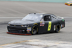 November 16, 2018 - Homestead, FL, U.S. - HOMESTEAD, FL - NOVEMBER 16: Tommy Joe Martins, driver of the #8 Chevy, during practice for the NASCAR Xfinity Series playoff race, the Ford EcoBoost 300 on November, 16, 2018, at Homestead - Miami Speedway in Homestead, FL. (Photo by Malcolm Hope/Icon Sportswire) (Credit Image: © Malcolm Hope/Icon SMI via ZUMA Press)