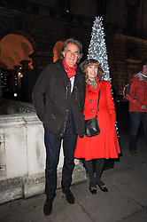 SIR PAUL & LADY SMITH attend a Winter Party given by Tiffany & Co. Europe to launch the 10th season of Somerset House's Ice Skating Rink at Somerset House, The  Strand, London on 16th November 2009.