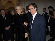 PRINCESS MICHAEL OF KENT; THADDAEUS ROPAC, Opening of Galerie Thaddaeus Ropac London, Ely House, 37 Dover Street.. Mayfair. London. 26 April 2017.