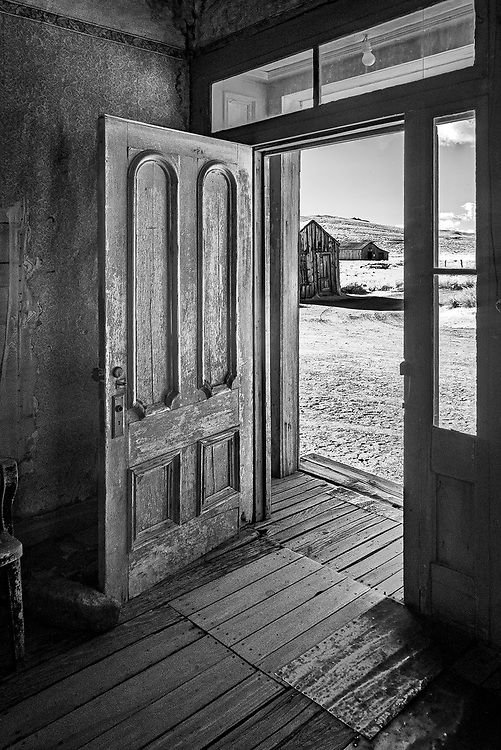 View from the Miller House, Bodie, CA