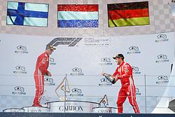 July 1, 2018 - Spielberg, Austria - Motorsports: FIA Formula One World Championship 2018, Grand Prix of Austria, .#7 Kimi Raikkonen (FIN, Scuderia Ferrari), #5 Sebastian Vettel (GER, Scuderia Ferrari) (Credit Image: © Hoch Zwei via ZUMA Wire)