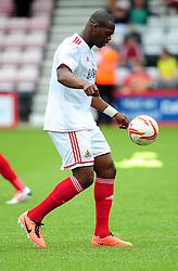 Bristol City's Marlon Harewood - Photo mandatory by-line: Dougie Allward/JMP - Tel: Mobile: 07966 386802 27/03/2013 - SPORT - FOOTBALL - Goldsands Stadium - Bournemouth -  Bournemouth V Bristol City - Pre Season friendly