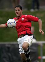 Fotball<br /> Landskamp G15<br /> Sverige v Norge 0:3<br /> Arvika<br /> 23.09.2010<br /> Foto: Morten Olsen, Digitalsport<br /> <br /> Riki Tomas Alba  -  Vålerenga