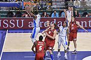 DESCRIZIONE : Eurocup 2015-2016 Last 32 Group N Dinamo Banco di Sardegna Sassari - Cai Zaragoza<br /> GIOCATORE : Jarvis Varnado<br /> CATEGORIA : Schiacciata Sequenza<br /> SQUADRA : Dinamo Banco di Sardegna Sassari<br /> EVENTO : Eurocup 2015-2016<br /> GARA : Dinamo Banco di Sardegna Sassari - Cai Zaragoza<br /> DATA : 27/01/2016<br /> SPORT : Pallacanestro <br /> AUTORE : Agenzia Ciamillo-Castoria/L.Canu