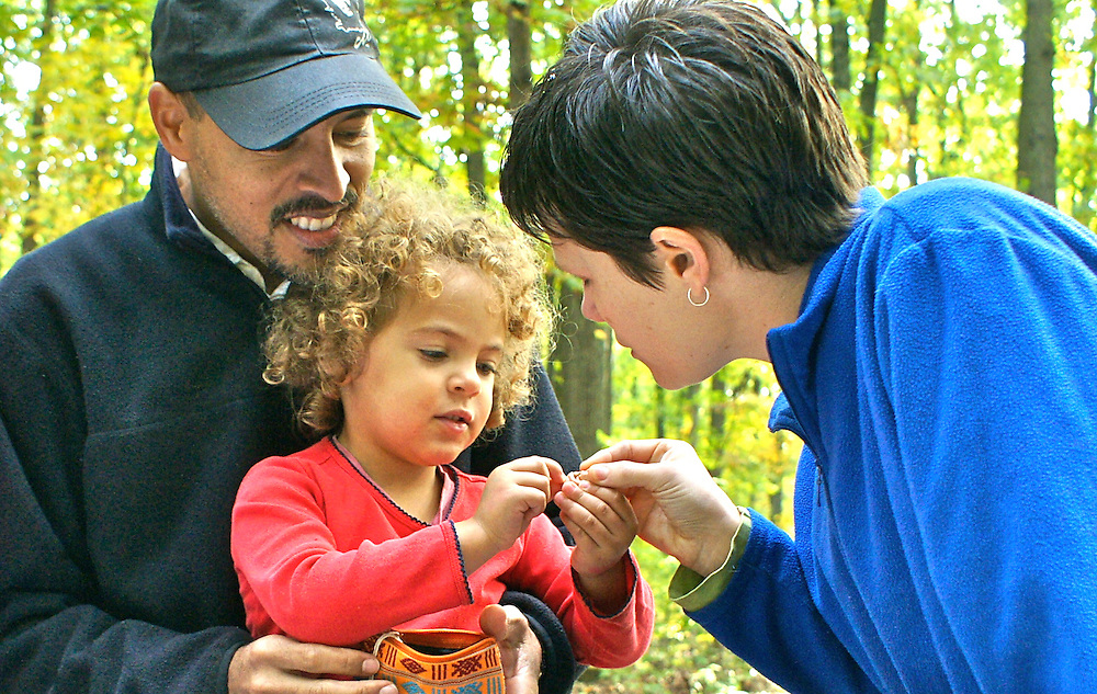 A family in a Pennsylvania state park. Family, Family activities