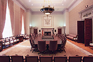 Washington, DC  The Board Room of the Federal Reserve Board of Governors.<br />Photo by Dennis Brack