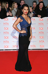 Vanessa White attending the National Television Awards 2018 held at the O2, London. Photo credit should read: Doug Peters/EMPICS Entertainment
