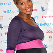 Denise Lewis attends Women of the Year Lunch and Awards at Intercontinental Hotel Park Lane, London, UK. 15 October 2018.