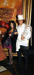 CAROLINE LI and ANDY WONG at Andy & Patti Wong's annual Chinese New year Party, this year to celebrate the Year of The Pig, held at Madame Tussauds, Marylebone Road, London on 27th January 2007.<br /><br />NON EXCLUSIVE - WORLD RIGHTS