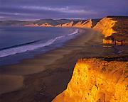 Sunrise atDrakes Beach,Point Reyes National Seashore, California