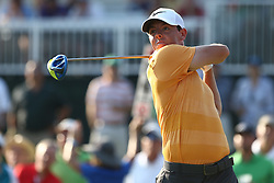May 12, 2016 - Ponte Vedra Beach, Florida, United States - Rory McIlroy tees off the 16th hole during the first round of The PLAYERS Championship at TPC Sawgrass. (Credit Image: © Debby Wong via ZUMA Wire)
