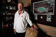 Jeff Quinn poses for a photo at his home on September 22, 2015.