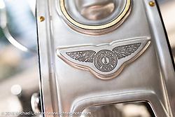 Yuichi Yoshizawa and Yoshikazu Ueda's Custom Works Zon BMW R18 prototype boxer engine custom at the 27th Annual Mooneyes Yokohama Hot Rod Custom Show 2018. Yokohama, Japan. Saturday, December 1, 2018. Photography ©2018 Michael Lichter.
