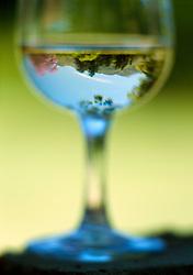 Looking into wine glass (Credit Image: © Axiom/ZUMApress.com)