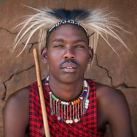 Maasai Man, Tanzania