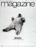 THE INDEPENDENT MAGAZINE (Great Britain), Dez. 22/2001, Photograph by Heidi and Hans-Juergen Koch/animal-affairs.com