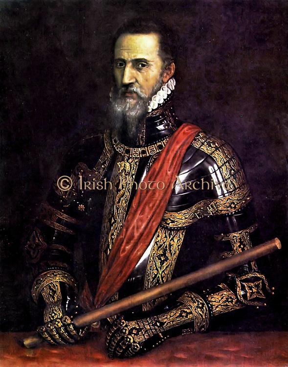 Don Fernando Álvarez de Toledo, III duke of Alba. Early 16th century
