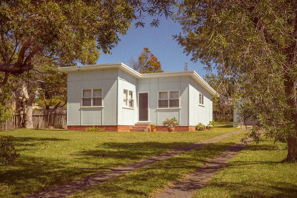 An original 'fibro' holiday home on NSW South Coast