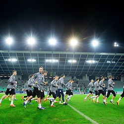 20141111: SLO, Football - Practice session of Slovenian National Team in Stozice