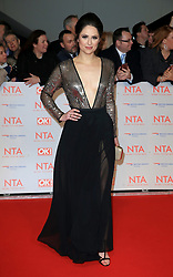 at the National Television Awards at the 02 Arena in London, UK. 24 Jan 2018 Pictured: Nicola Thorpe. Photo credit: MEGA TheMegaAgency.com +1 888 505 6342