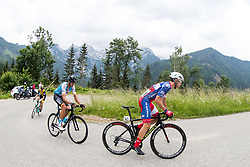 Ruben Plaza Molina of Israel Cycling Academy and +Ziga Groselj of Adria Mobil Cycling Team during 4th Stage of 25th Tour de Slovenie 2018 cycling race between Ljubljana and Kamnk (155,2 km), on June 14, 2018 in  Slovenia. Photo by Matic Klansek Velej / Sportida