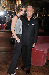 RAFFI & JO MANOUKIAN at the 50th birthday party for Patrick Cox held at the Café Royal Hotel, 68 Regent Street, London on 15th March 2013.