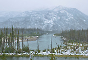 Early (freak) snow storm in the Northern Rocky Mountains<br />